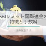 「SBIレミット国際送金サービス」の画像